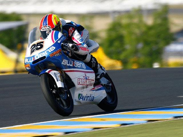 Pole potition para Terol en Le Mans