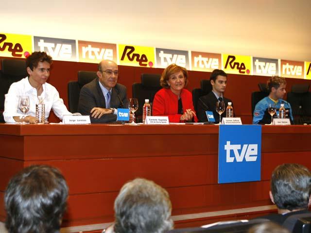 Imagen de Galeria de TVE y Dorna firman por la emisión del Mundial
