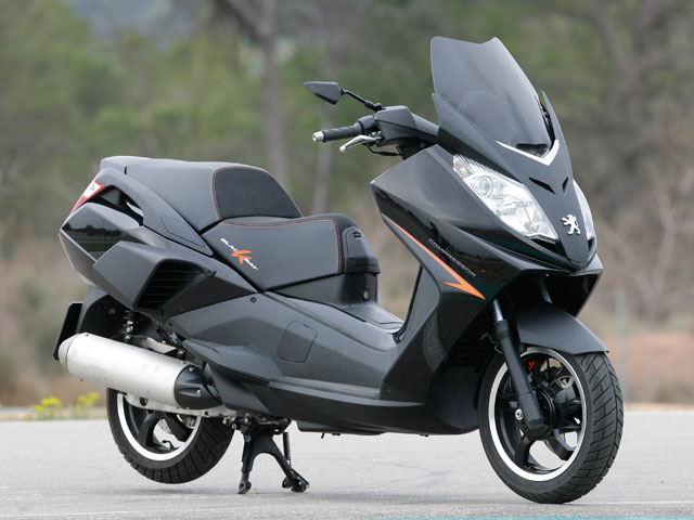 Peugeot BlackSat 125 ABS