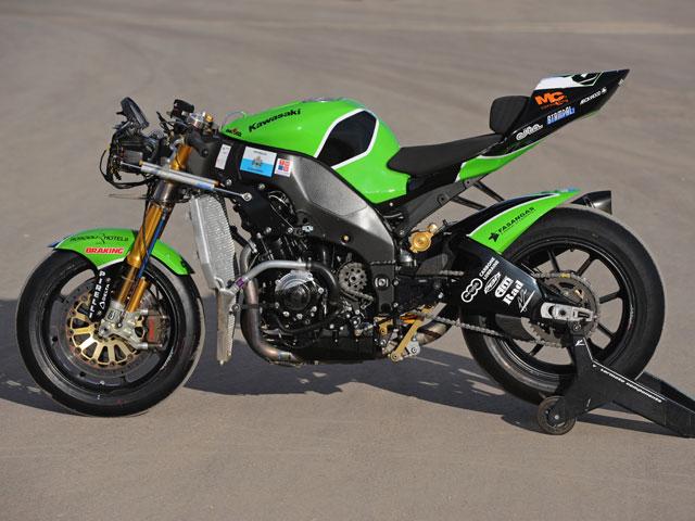 Kawasaki ZX-10R Regis Laconi