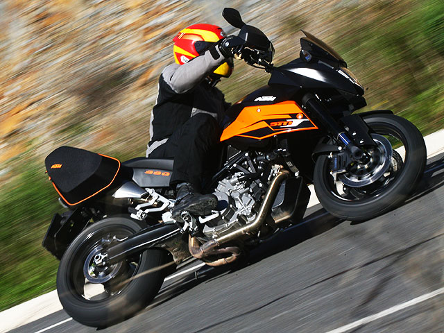 KTM 990 Supermoto Tourer