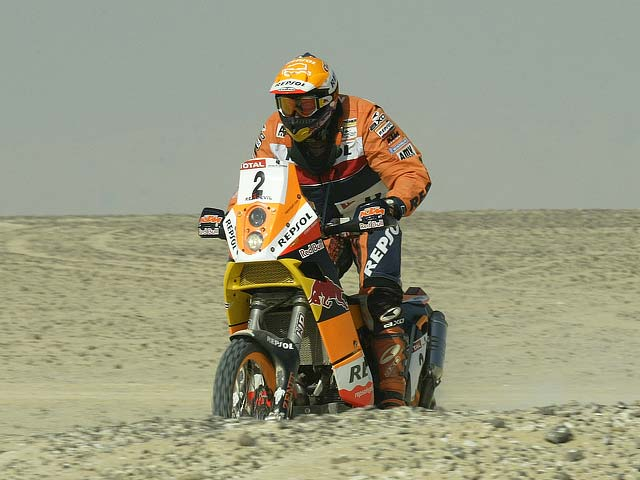 Empieza la aventura, Dakar 2007
