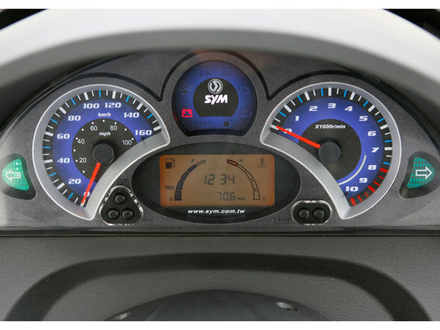 SYM GTS 300 i EVO