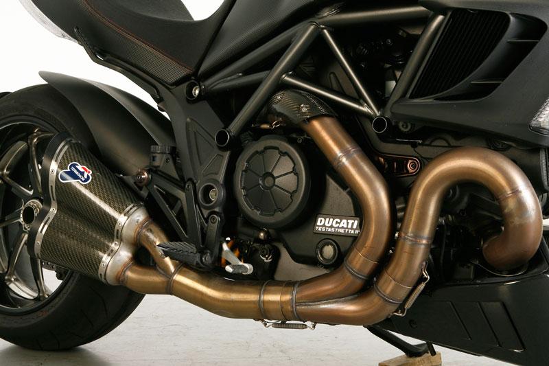 Motor de la Ducati Diavel Carbon