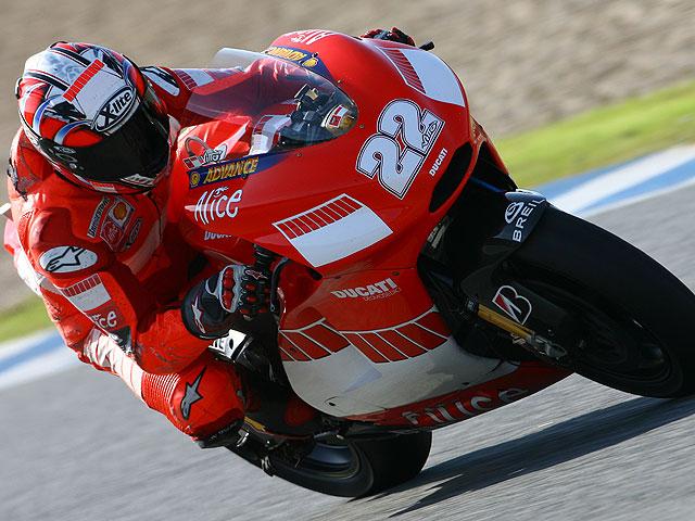 Presentación del Ducati Marlboro