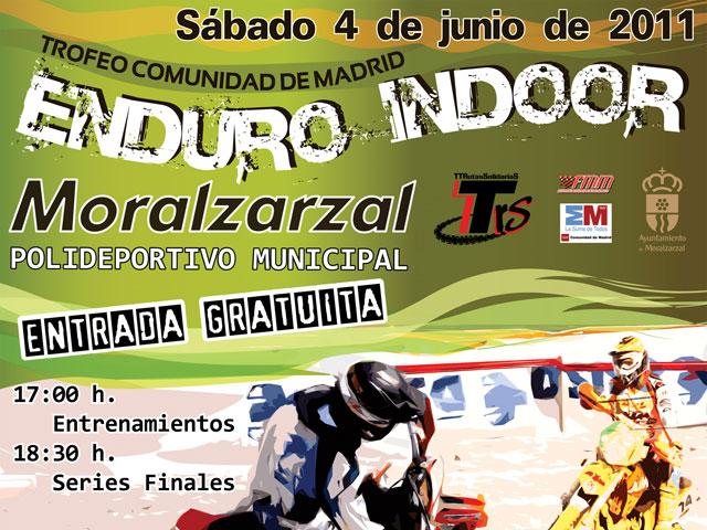 Copa Solidaria de Enduro Indoor en Moralzarzal