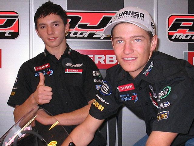 Ajo Motorsport en 2007 con Derbi