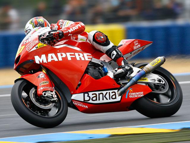 Julian Simon, entrenamientos libres Moto2 GP de Catalunya