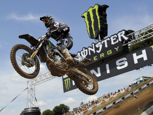 Frossard, Campeonato del Mundo de Motocross, Francia