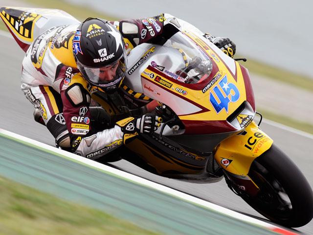Stoner se impone en los primeros entrenamientos de MotoGP