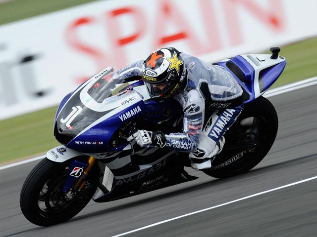 Stoner, Simoncelli y Lorenzo, batalla sin un respiro por la «pole» de MotoGP