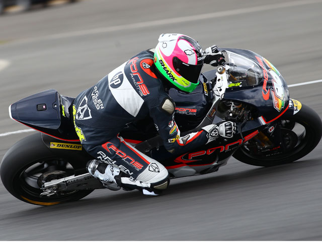 Marc Márquez, primera pole position en Moto2