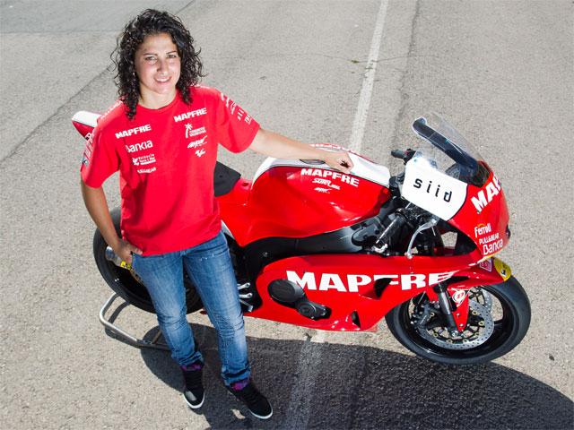 Elena Rosell debutará en Moto2 en el GP de Holanda