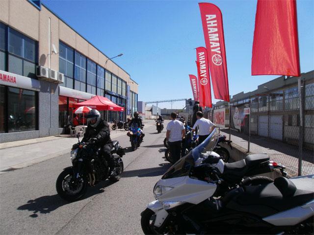Yamaha Weekend, en Bilbao y Burgos