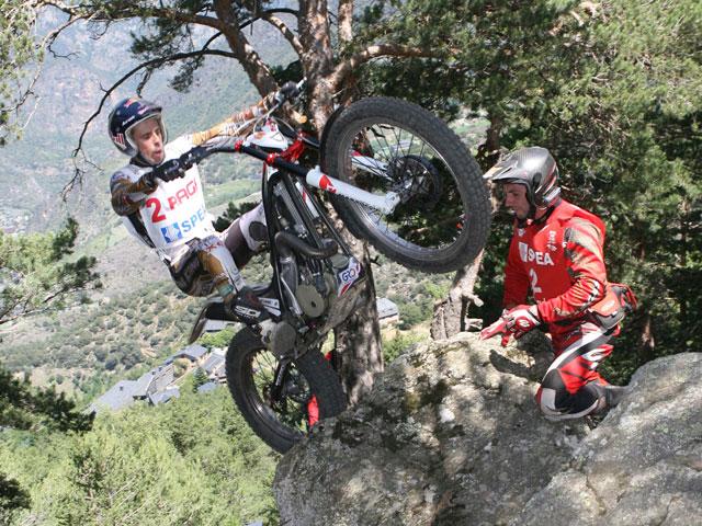 Adam Raga completó el podio del Trial de Andorra