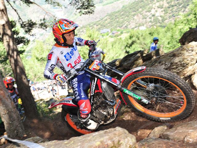 Takahisa Fujinami fue segundo en el Trial de Andorra