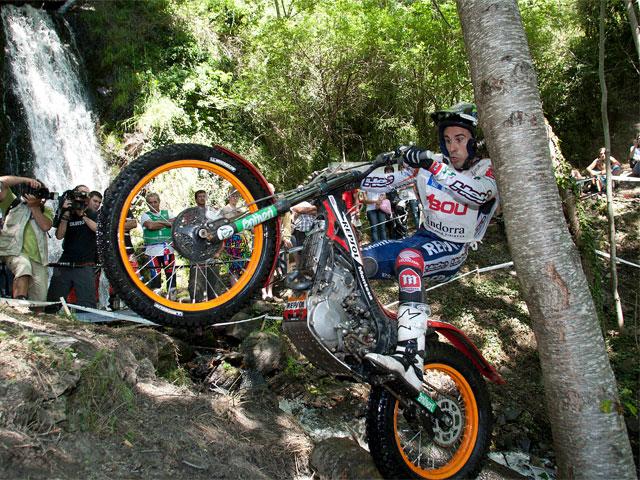 Toni Bou venció en la prueba de Andorra del Mundial de Trial