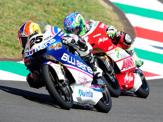 Maverick Viñales fue tercero en el GP de Italia de 125