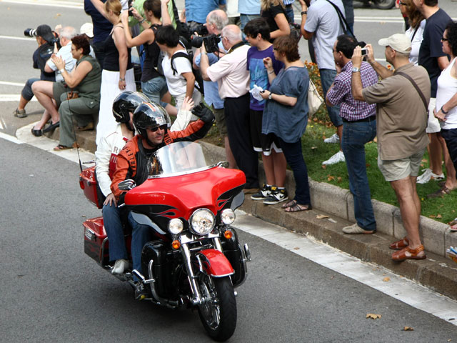12.000 Harley-Davidson invaden Barcelona