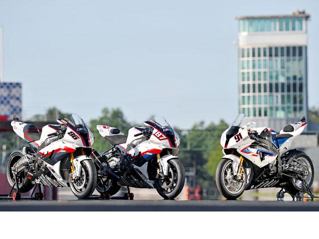 Prueba de las BMW de Superbike