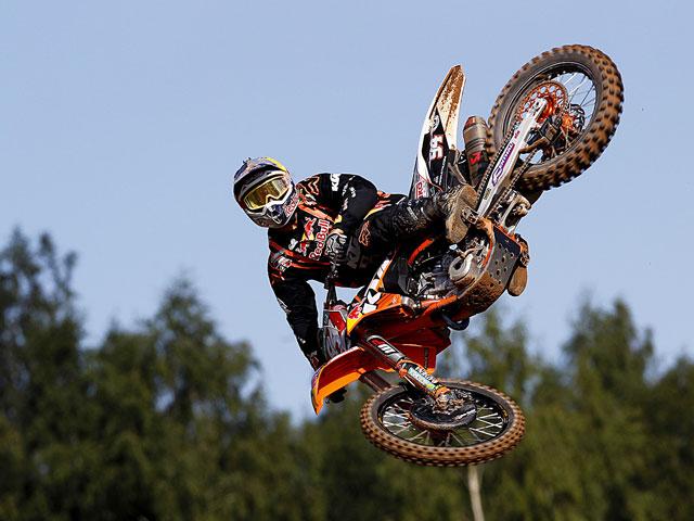 Cairoli ganó las dos mangas MX1 en el Campeonato del Mundo celebrado en Letonia