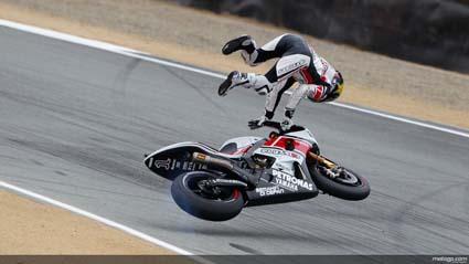 Jorge Lorenzo logra la pole en Laguna Seca