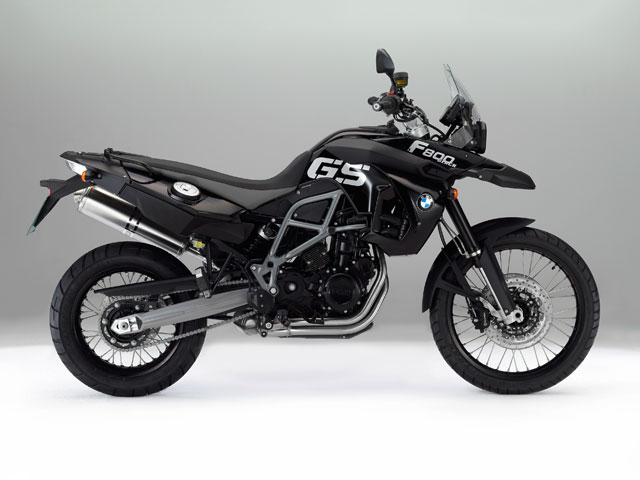 BMW F 800 GS Triple Back