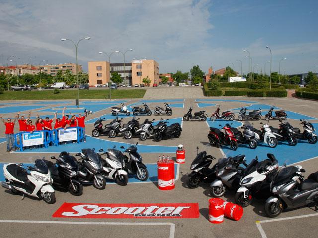 Comparativa de Scooter de más de 250 cc