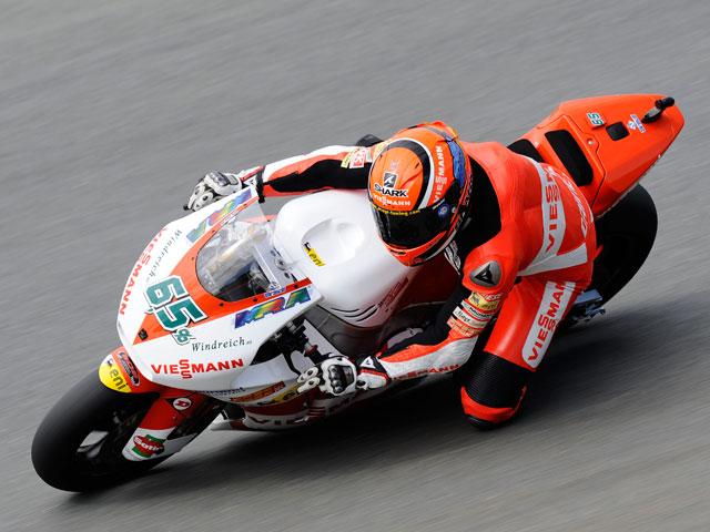 Stefan Bradl logró el mejor tiempo en los entrenamientos del viernes de Moto2