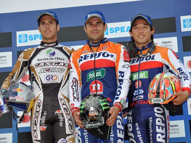 Toni Bou y Adam Raga se reparten las victorias del Trial de Japón
