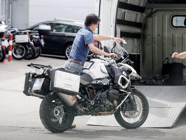 BMW R 1200 GS con motor boxer de agua