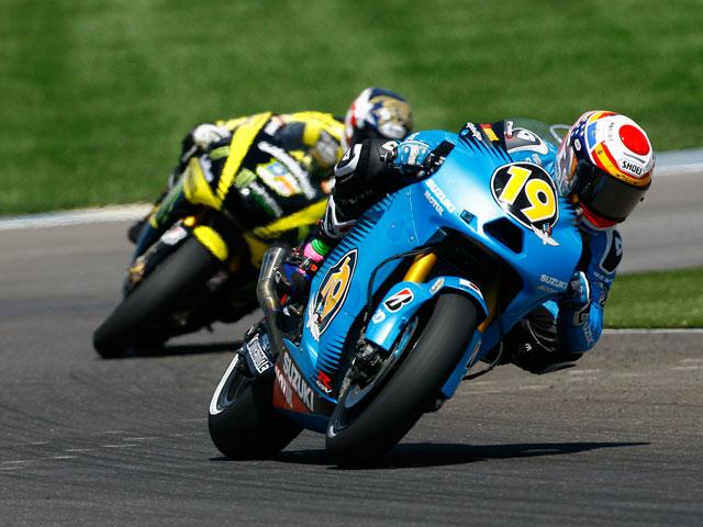Alvaro Bautista en el GP de Indianapolis
