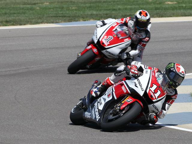 Spies y Lorenzo, adelantamiento en el GP de Indianapolis