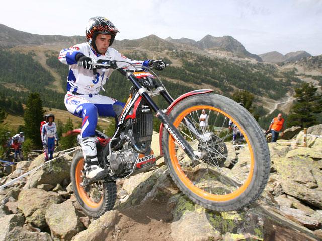 Alfredo Gómez es Campeón del Mundo Junior de Trial