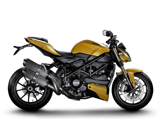 Ducati estrena la nueva Streetfighter 848 para 2012