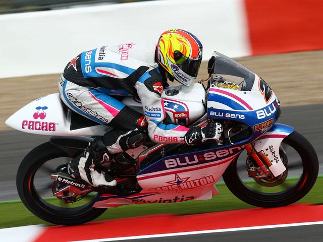 Imagen de Galeria de Viñales, pole position de 125 en Silverstone
