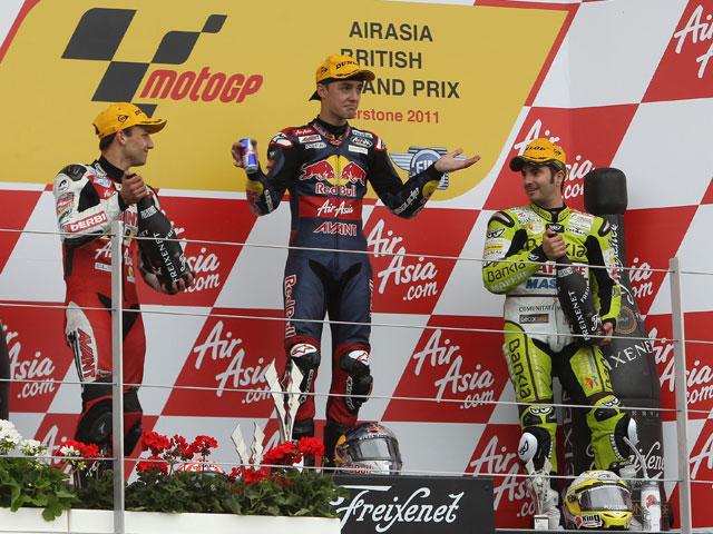 Bradl y Folger, satisfechos con el trabajo en el GP de Gran Bretaña