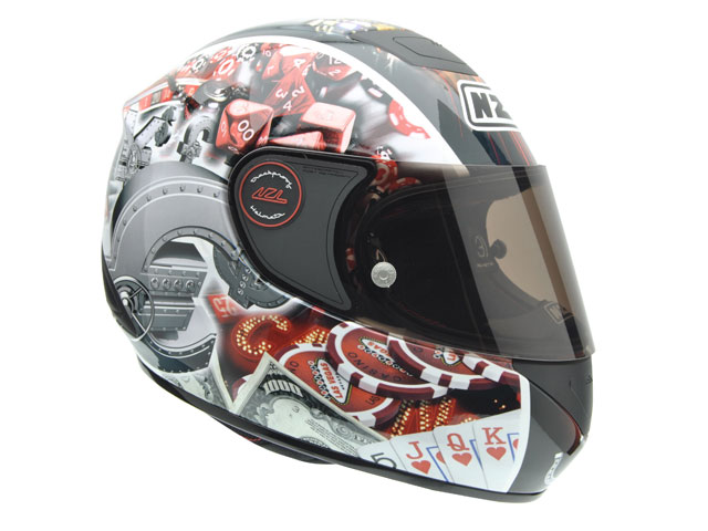 La marca de cascos 3D Helmets presenta un nuevo diseño