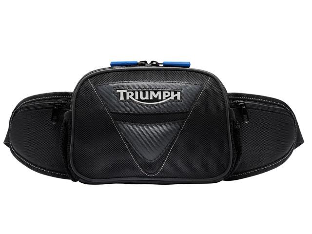Nueva riñonera porta casco de Triumph