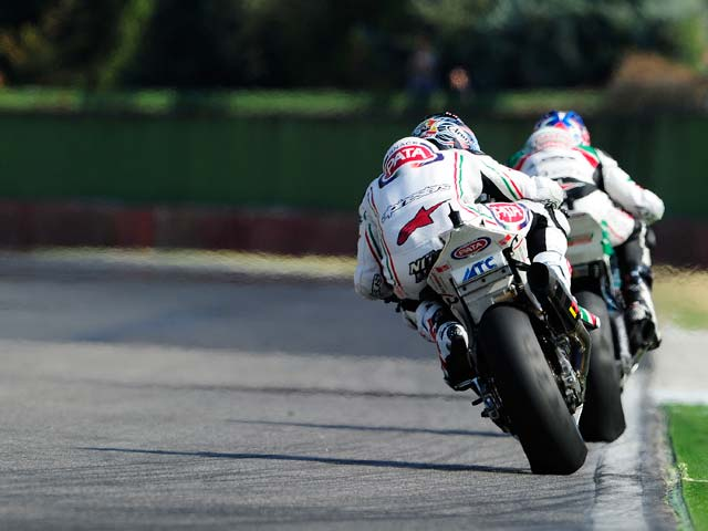 Haga, Mundial de Superbike Imola
