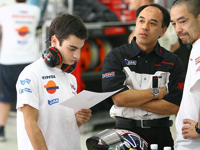 Rossi el más rápido de Sepang