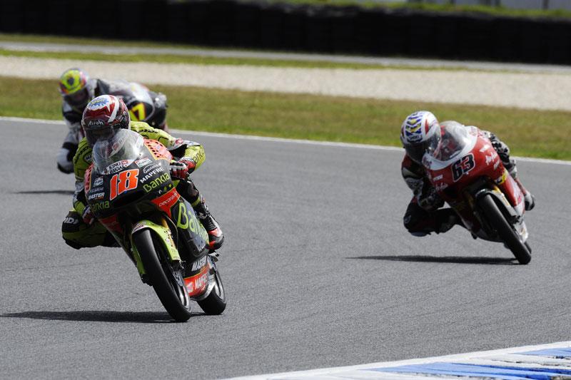 Galería de fotos del Gran Premio de Australia de 125 cc y Moto2 2011