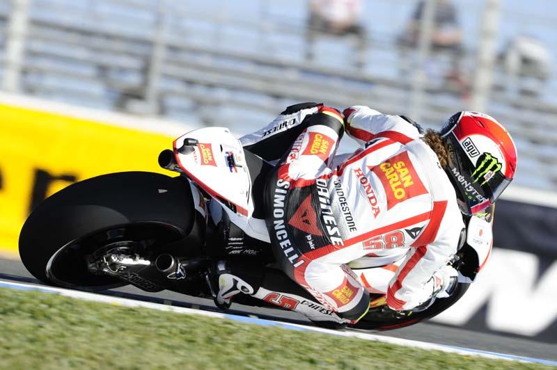 Fotos de Marco Simoncelli MotoGP 2011