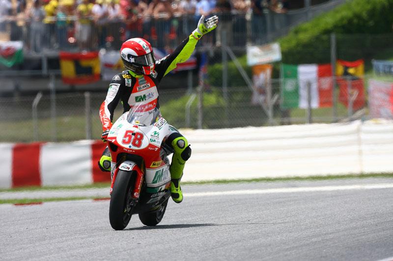 GP de Cataluña 2008. 250 cc