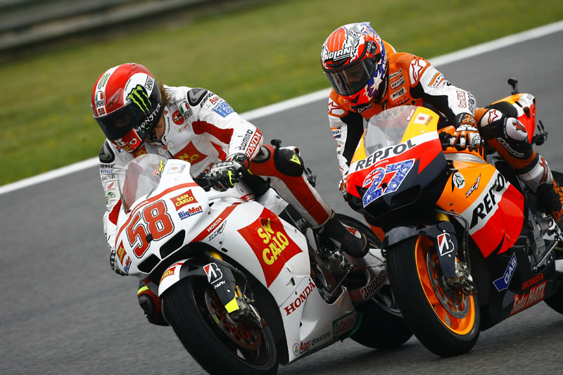 GP de Jerez 2011. MotoGP. Stoner, Simoncelli