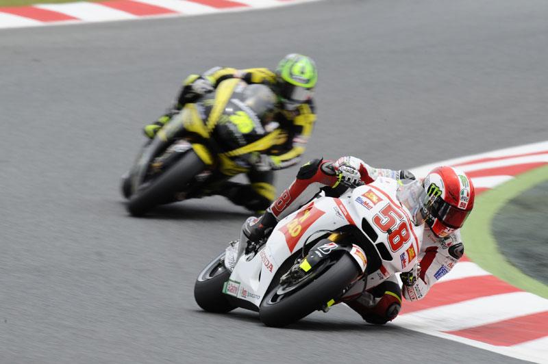 GP de Cataluña 2011. MotoGP. Simoncelli, Edwards