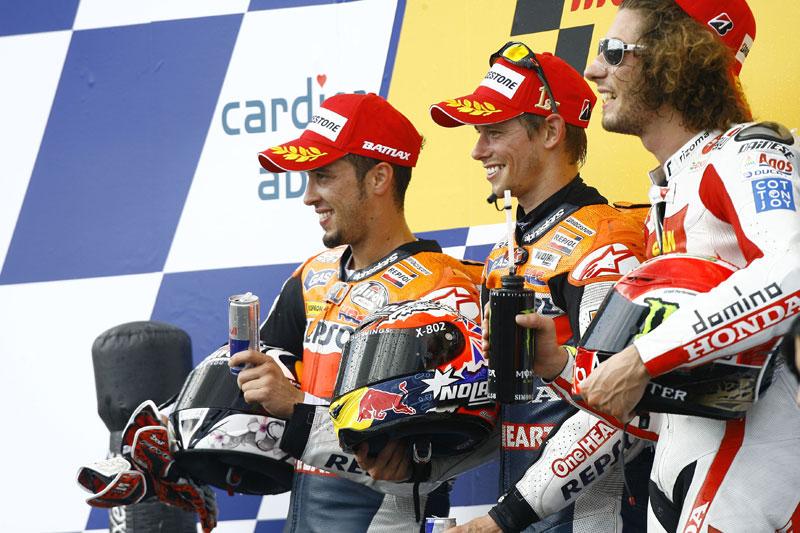 GP Rep. Checa 2011. MotoGP. Stoner, Pedrosa, Simoncelli