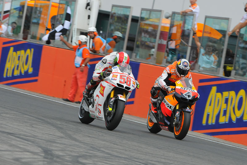 GP San Marino 2011. MotoGP. SImoncelli, Dovizioso