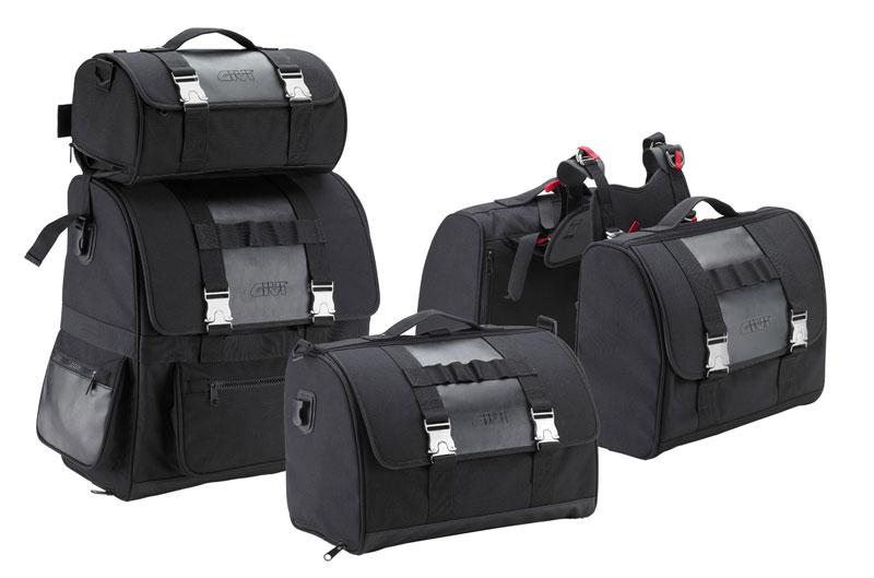 Galería de fotos de la colección Givi 2012 de bolsas y cascos