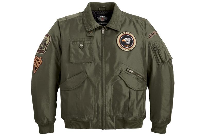 Galería de fotos de la colección de chaquetas militares de Harley Davidson 2012